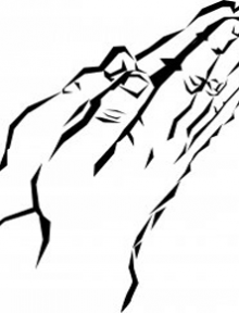 Black_And_White_Prayer_Hands